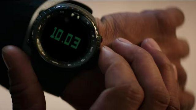 Suunto Core All Black Digital Watch worn by Robert Mccall