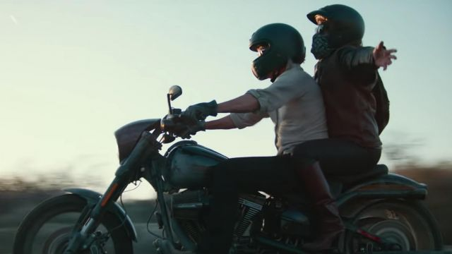 La moto de Jackson Maine (Bradley Cooper) dans A Star is Born