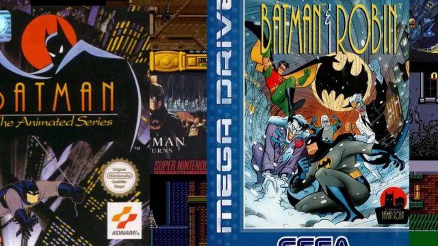 Game The Adventures Of Batman Robin Sega Megadrive Seen In The Point Culture Sur Batman Linksthesun Spotern