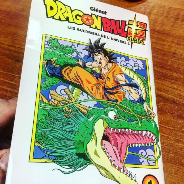 The Book Manga Dragon Ball Super Volume 1 On The Account