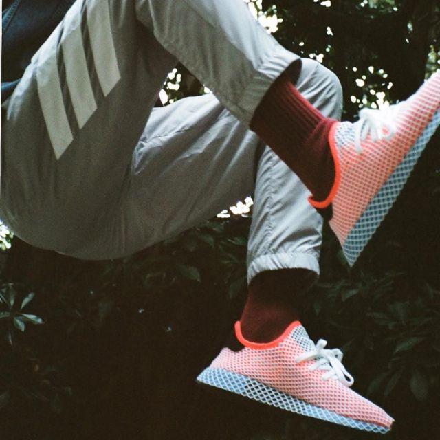 Sneakers Adidas Deerupt Runner of Kendall Jenner on his