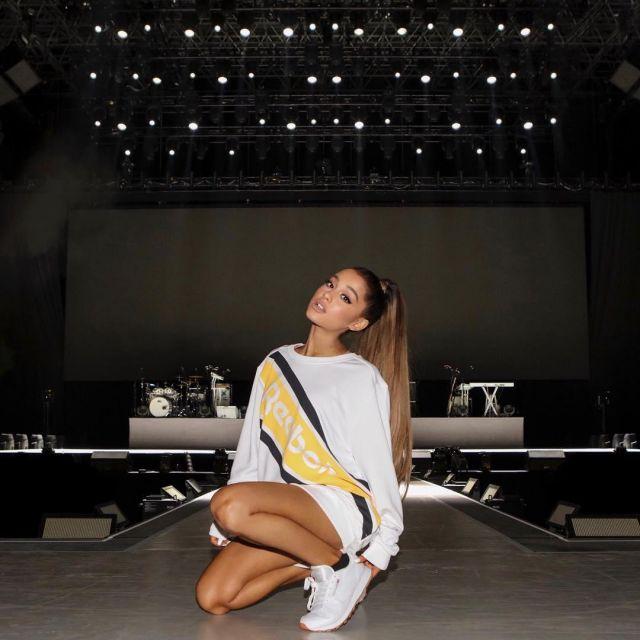 Ariana Grande Reebok Bow Shoes