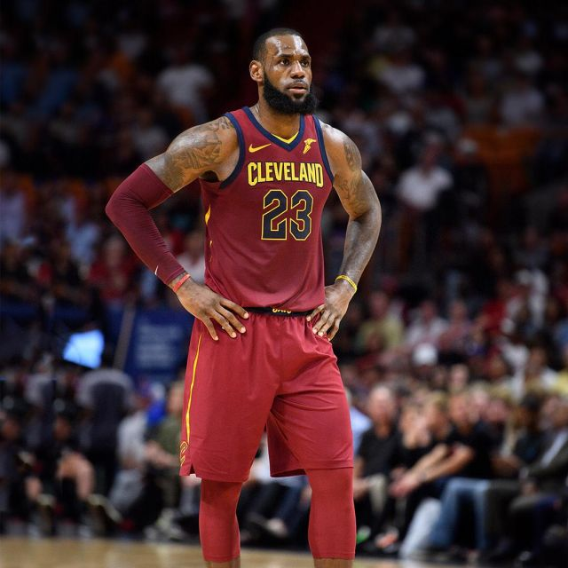 quality design c4c2d 68e4f The jersey NBA Nike Cleveland Cavaliers, worn by Lebron ...