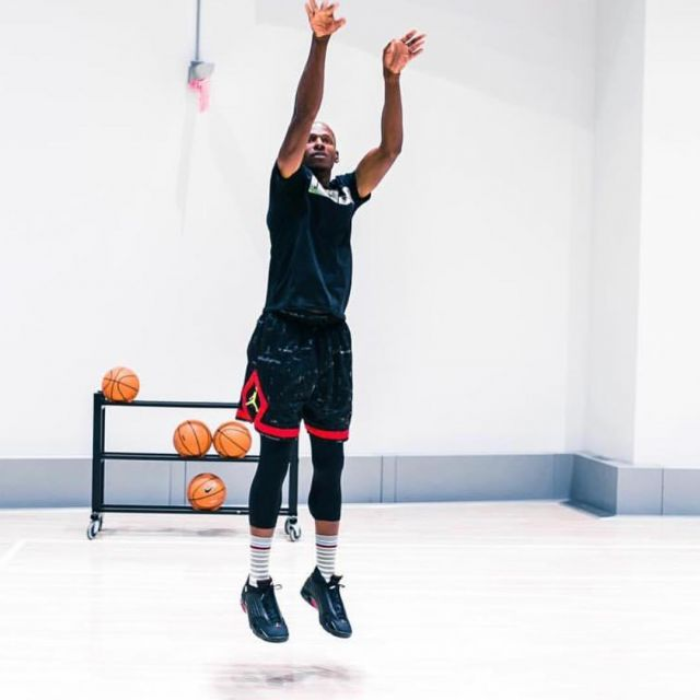 separation shoes f192b aa482 Sneakers Nike Air Jordan 14 Last Shot, Ray Allen on the ...