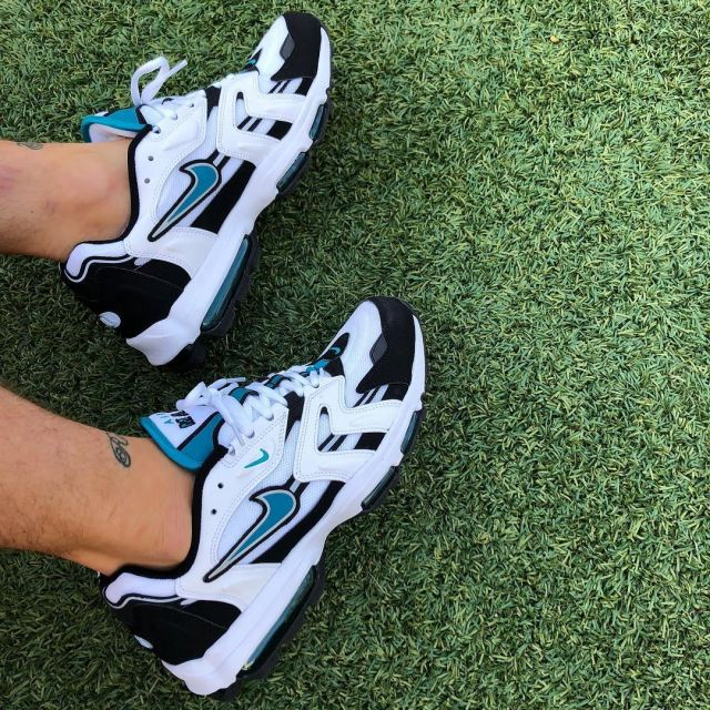 The pair of Nike Air Max 96 II XX Mystic Teal Sean Wotherspoon on ...