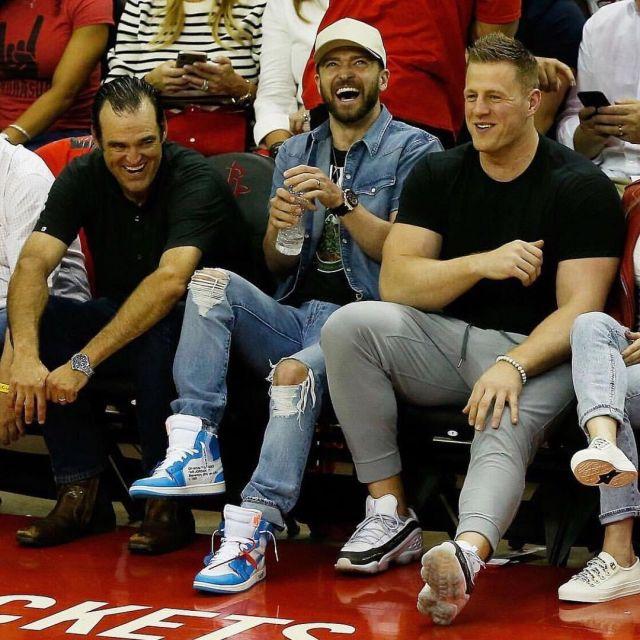 promo code 9b02b 3b7a7 Sneakers, Nike Air Jordan x off white Justin Timberlake on ...