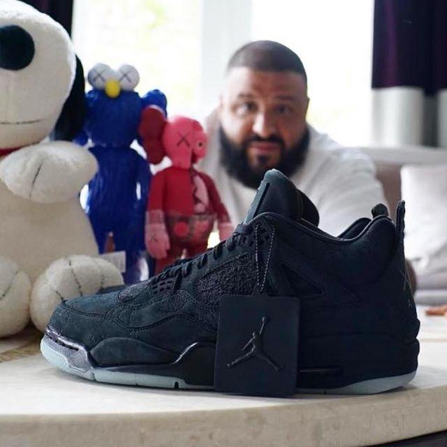 reputable site 108dd f9985 Sneakers Nike Air Jordan 4 x KAWS DJ Khaled on the account ...