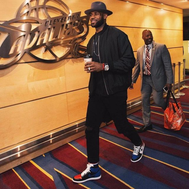 watch 0e37c 23e43 The Nike air Jordan top 3 of Lebron James on instagram of ...