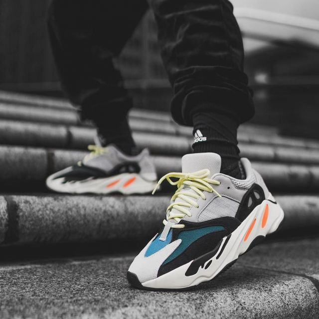 pretty nice f99a5 d9b8e adidas Yeezy Wave Runner 700 Solid Grey as shown on the ...