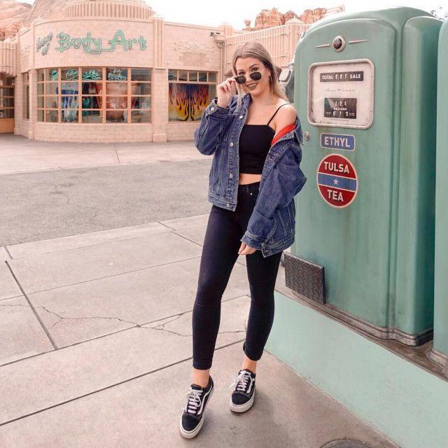 vans old skool girl Google Suche | Old skool outfit