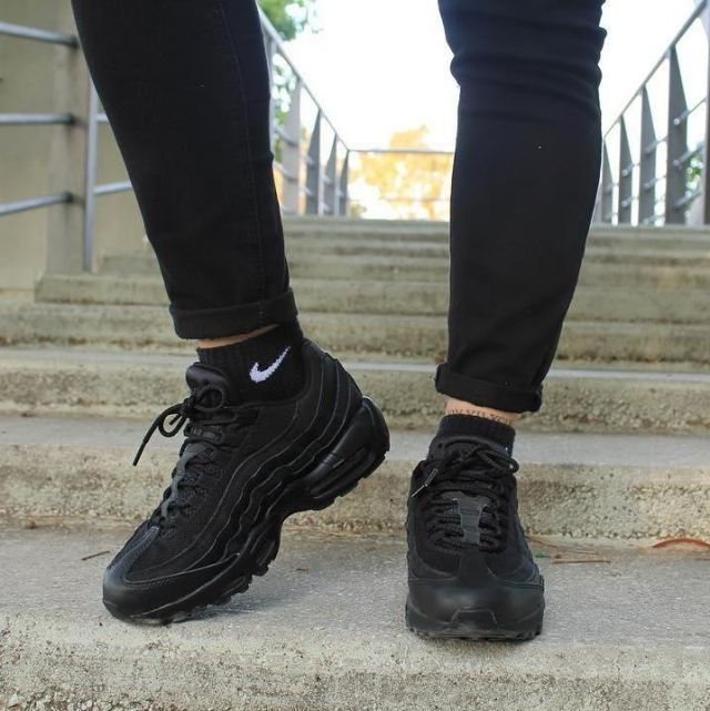 Sneakers black Nike Air Max 95 Albad13 on his account