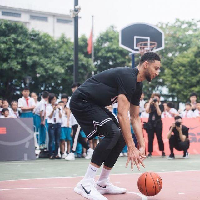 Nike hyperdunk worn by Ben Simmons