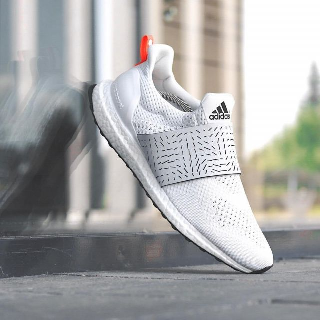 sneakers adidas Ultra Boost 1.0 All White seen on the