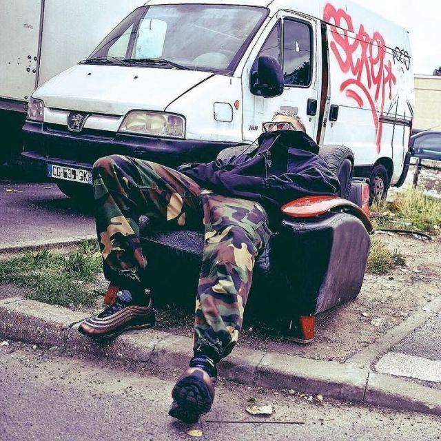 The pair of Nike Air Max 97 Skepta DJ Snake on his account