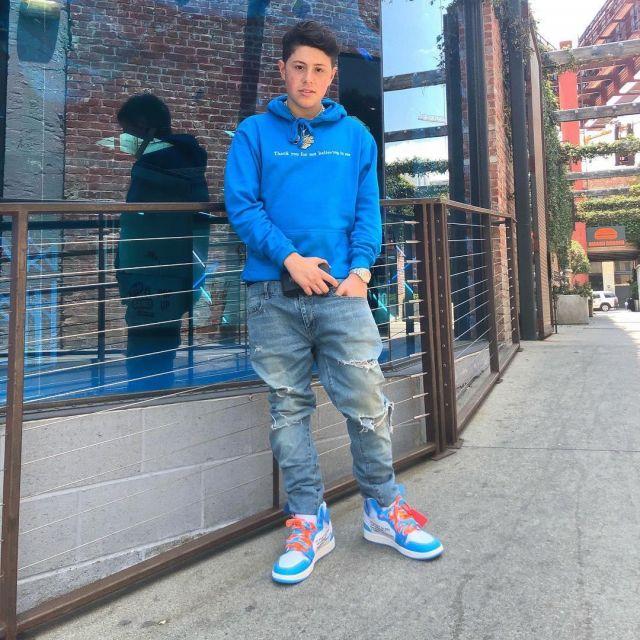 les sneakers Jordan 1 Retro High Off White University Bleues