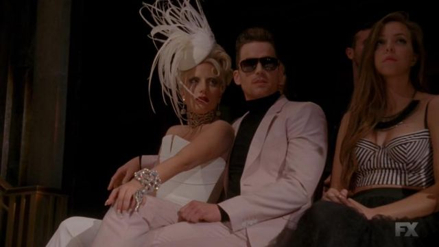The hat, Arturo Rios of The Countess (Lady Gaga) in American Horror Story