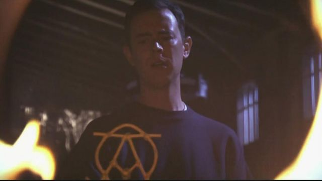 The iron Alpha and Omega of Travis Marshall (Colin Hanks) in the Dexter