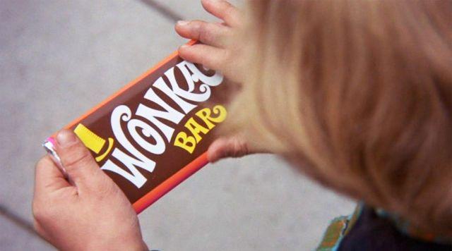 La barre de chocolat Willy Wonka dans Charlie et la chocolaterie