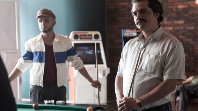 La montre Lanco de Pablo Escobar (Wagner Moura) dans Narcos