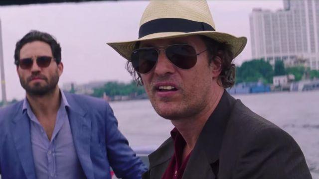 Le chapeau modèle Panama de Kenny Wells (Matthew McConaughey) dans Gold