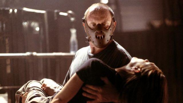 La masque de Hannibal Lecter (Anthony Hopkins) dans Le Silence Des Agneaux