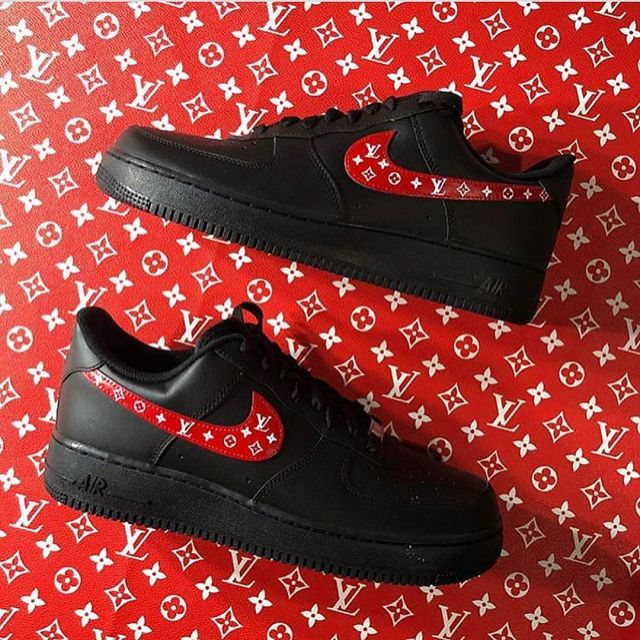 Sneakers Nike Air Force 1 x Louis Vuitton on the account