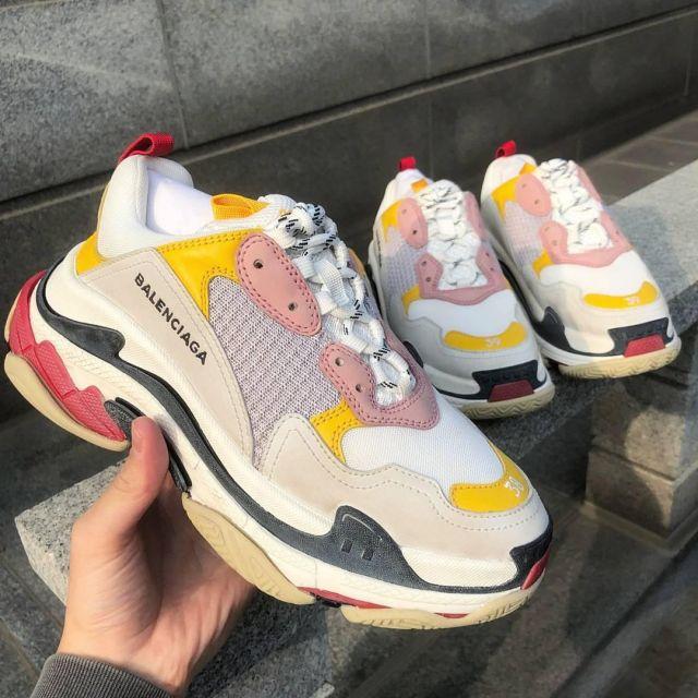 sneakers Balenciaga Triple S Cream