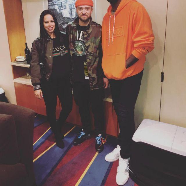 the best attitude db2d2 3c3cb The Nike vapormax Off White black Justin Timberlake on the ...