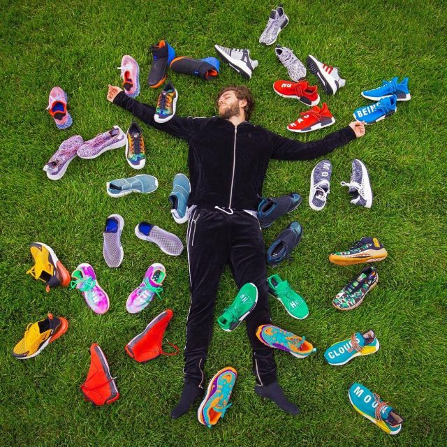new concept 85fe2 fed4a The sneakers multicolor Nike Air Max 98 QS of Zedd on his ...