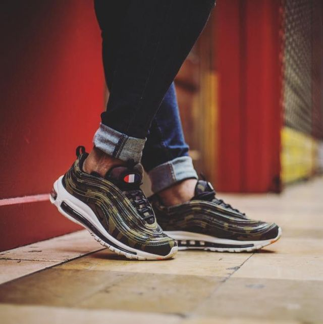 reasonably priced the latest closer at sneakers Nike Air Max 97 Country Camo Pack 'France' (2017 ...