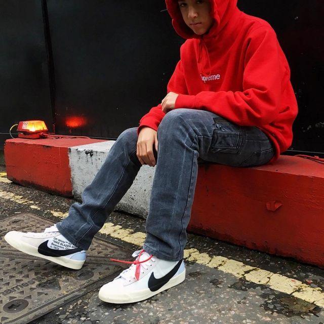 sneakers Nike blazer Mid Off white