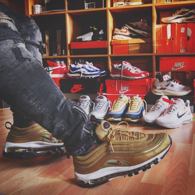 nike 97 gold uomo air max 97 uomo gold