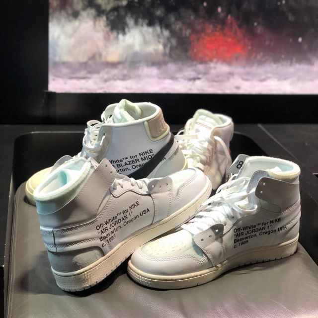 official photos 3b70e bf89c The AIR JORDAN 1 X OFF-WHITE white to Game on his account ...