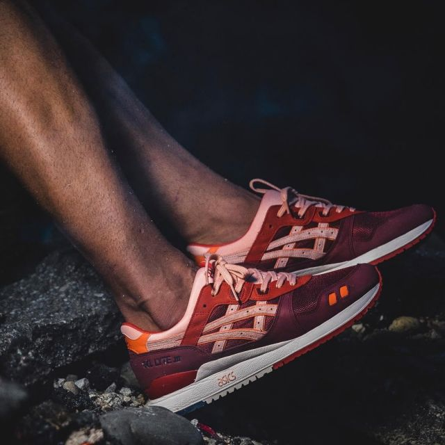 san francisco a20d7 d7d77 The Asics Gel Lyte 3 Volcano red bordeau of bisso97120 on ...