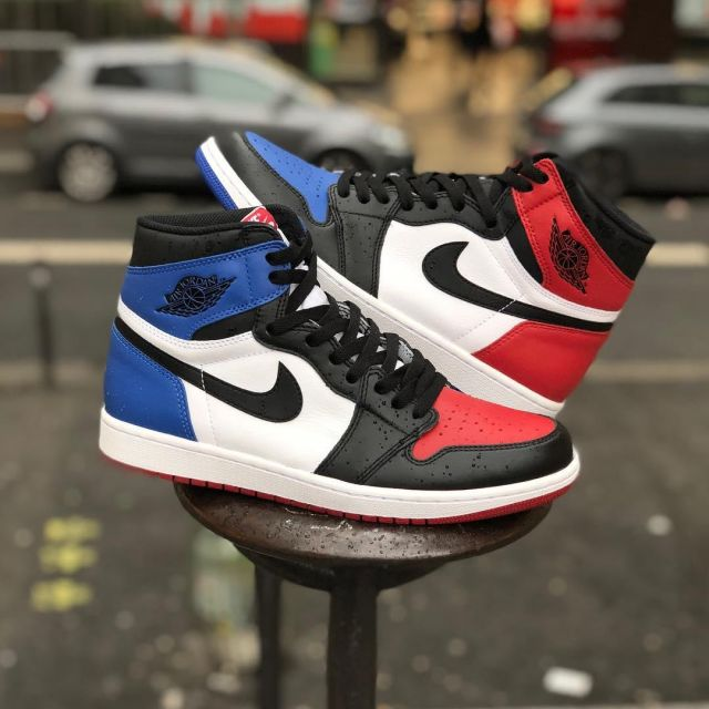 air jordan 1 bleu blanc rouge