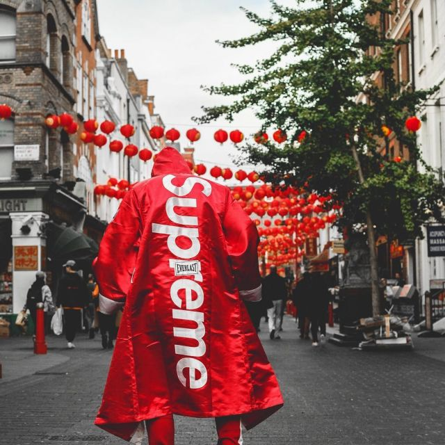 The Boxing Robe Supreme X Everlast Red Door The Influencer And
