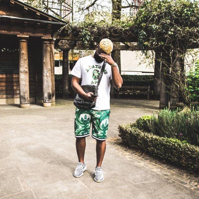 yeezy zebra with shorts Shop Clothing