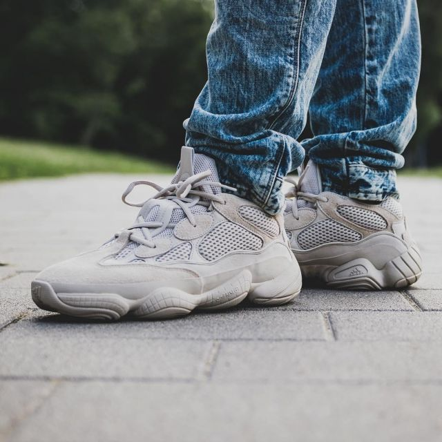 best website ad1f8 a665c The Adidas Yeezy Desert Rat 500 Blush on the account ...