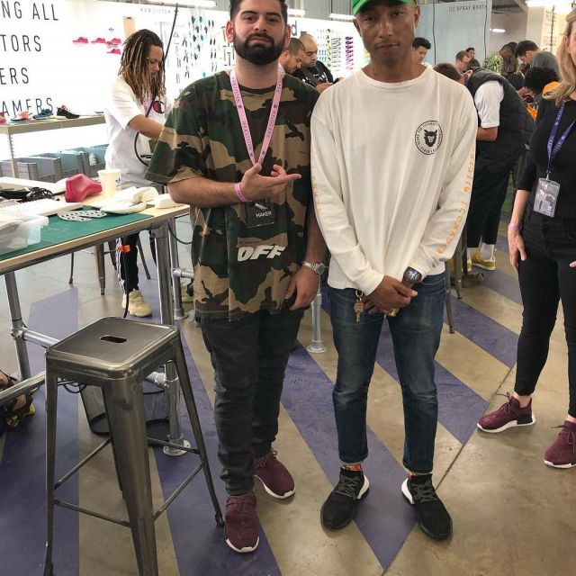 adidas NMD R1 Pharrell HU Friends and