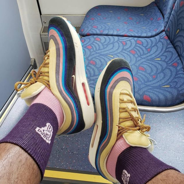Sneakers Nike X Sean Wotherspoon Air Max 97 1 King Fuvi On His Account Instagram Spotern