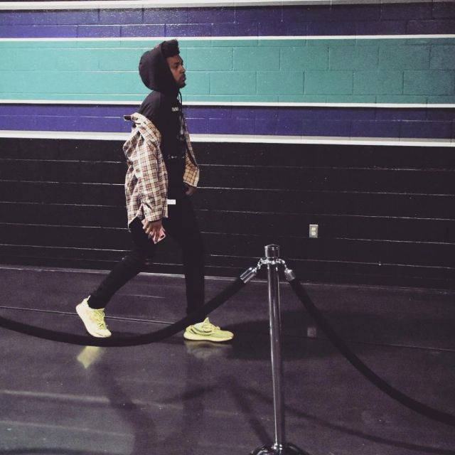free shipping f7af6 7e00a The yeezy boost 350 v2 yellow zebra Nick Young on his ...