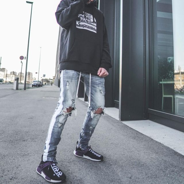The Adidas Nmd Human Race On Black Door The Influencer Vincent
