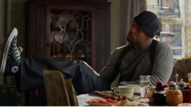 The sneakers Converse All Star Chuck Taylor Del Spooner (Will Smith) in I Robot