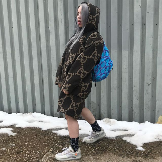 lowest discount new collection cheapest price Sneakers Nike Air Force 1 Low Off White Billie Eilish on his ...