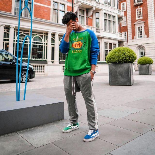 release date: 03992 a3089 Sneakers Revenge X Storm Ian Connor Blue worn by Ari Petrou ...