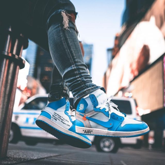 Nike Sneakers Jordan The Account X White Views Unc 1 Off Air On kOiZXPu