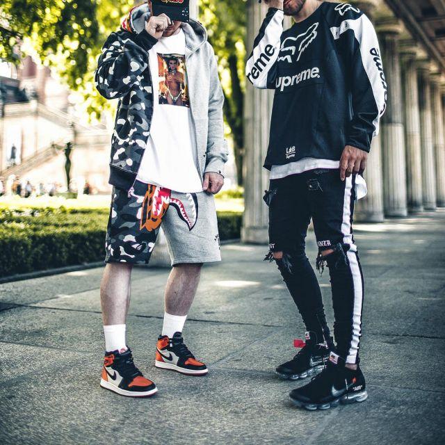 Og Air Sneakers Hi WhiteOrange Black Jordan 1 Re Nike And Sl shdtrCQ
