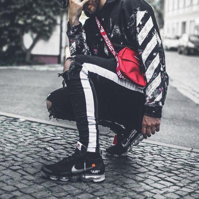 Sneakers Nike Vapormax Off White black