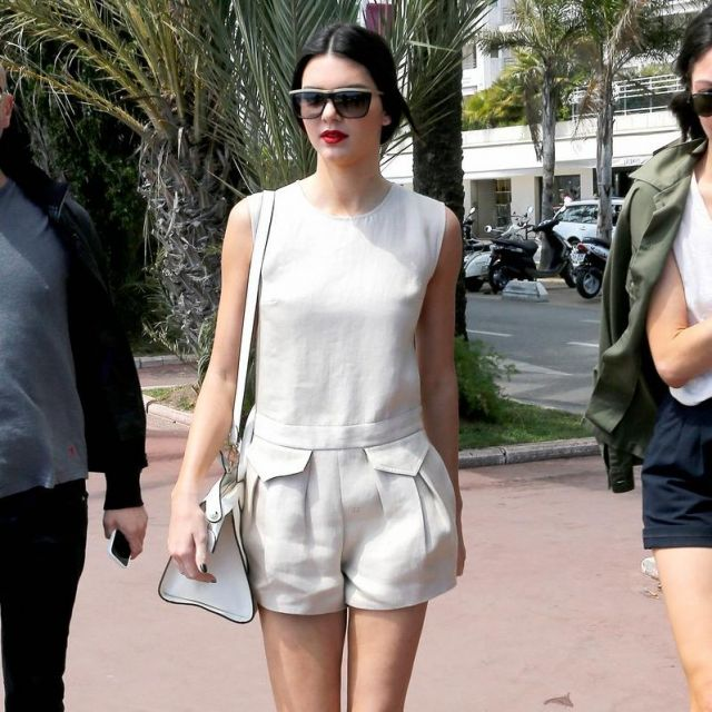Les lunettes de soleil portées par Kendall Jenner au Festival de Cannes 2014 (photo Instagram)