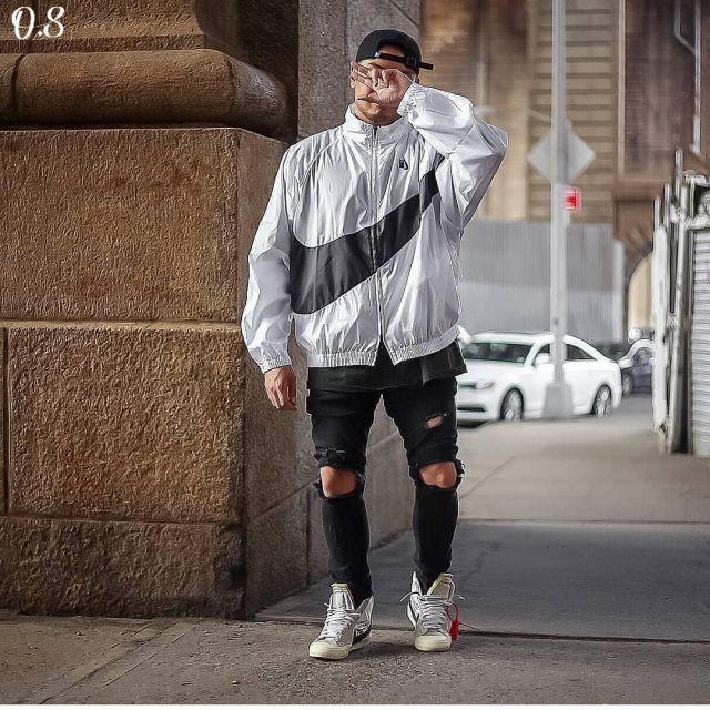 off white nike blazer outfit